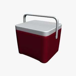 cooler igloo 3d model