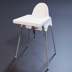 ikea antilop chair max