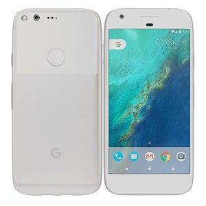 google pixel silver 3d 3ds