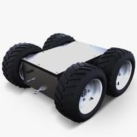 super mega bot robotic 3d c4d
