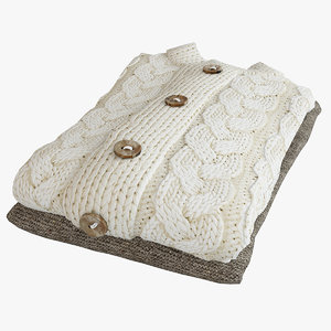 sweater knitted obj