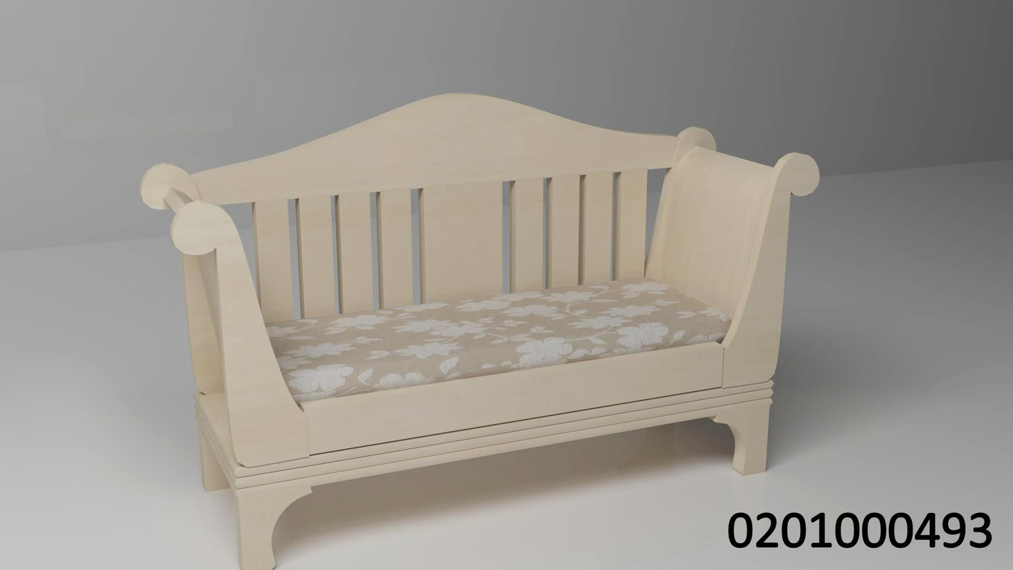 3d wood seat