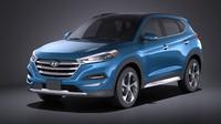 Hyundai Tucson 2017 VRAY