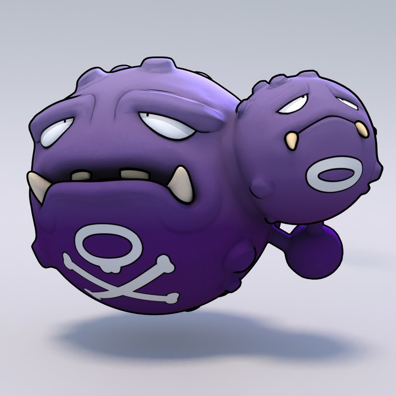 3ds weezing pokemon