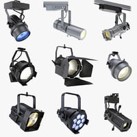 3d model architectural led light