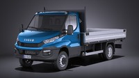 Iveco Daily Chassis Cab Pickup 2017 VRAY