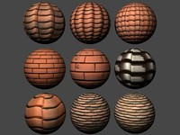 Roof Tiles Pack 1