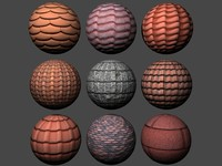 Roof Tiles Pack 3