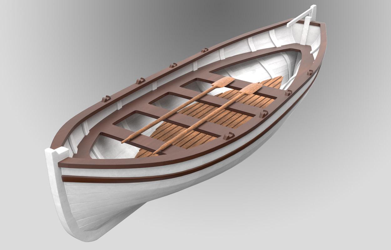 3d ship s boat