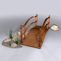 3d bridge landscape design