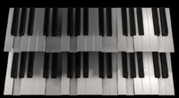 3d model octave keys keyboards