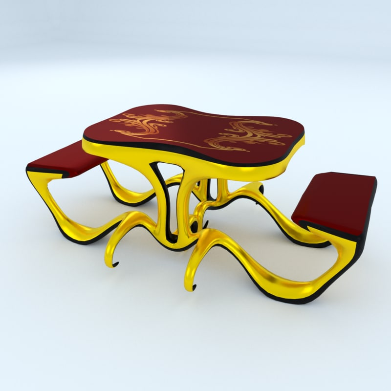 table unreal engine 3d max