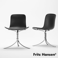 poul kjaerholm 3d model