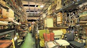 3d model old vintage warehouse