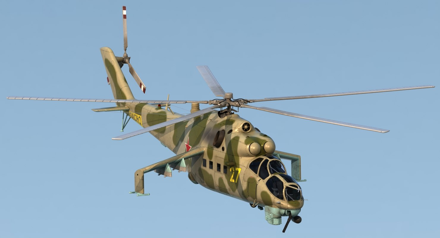 max russian helicopter mil mi-24