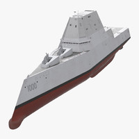 ma zumwalt class destroyer stealth ship