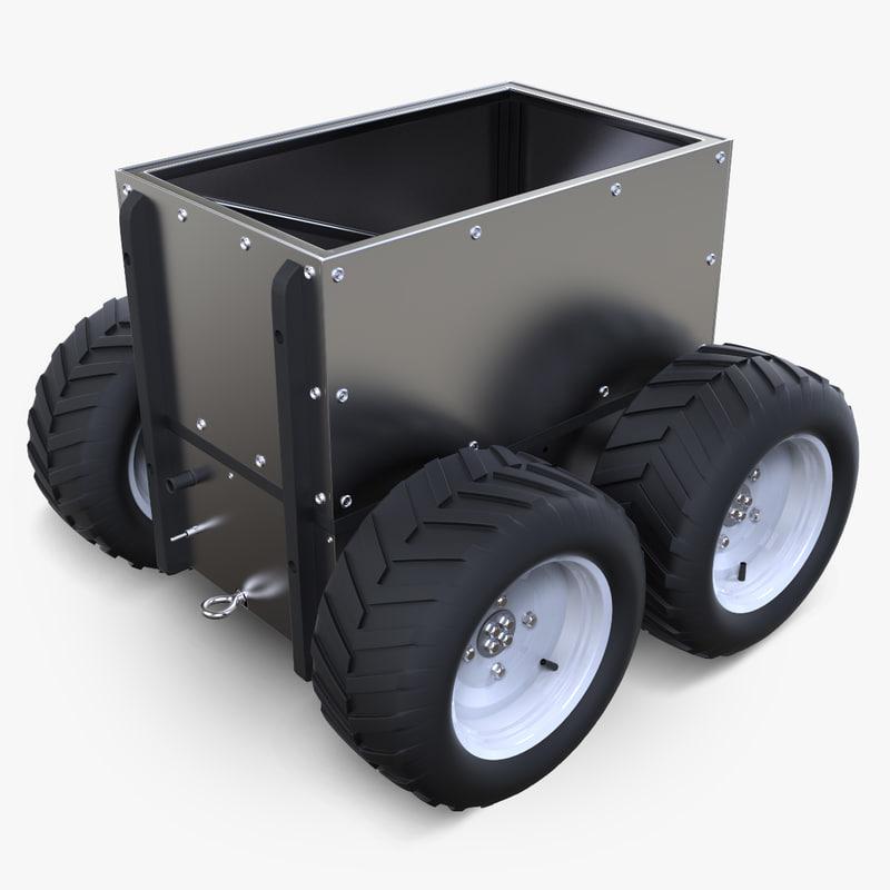 super mega bot robotic 3d model