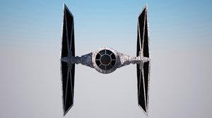3d spaceship starwars