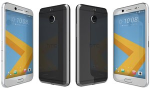 3d htc 10 evo black model