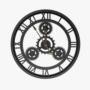 wall clock style loft max