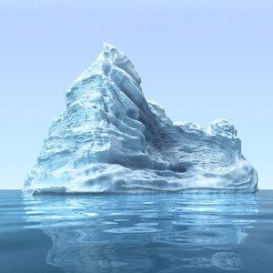 3d model iceberg 2