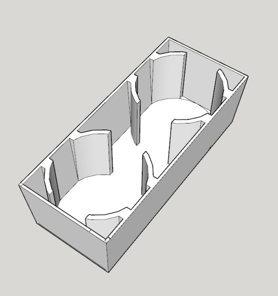 3d cup holder