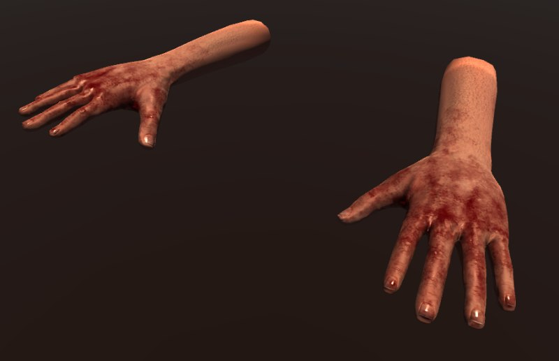 max hand person animations