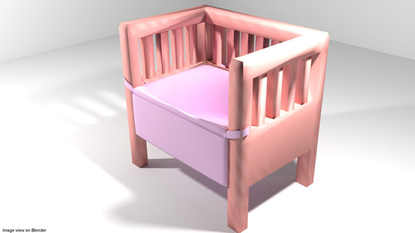 bassinet bed 3ds