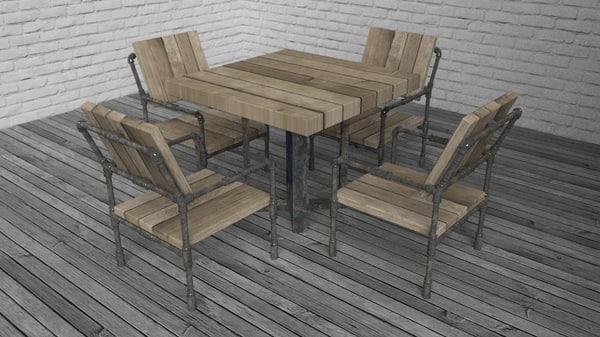 3d table kit 02 loft