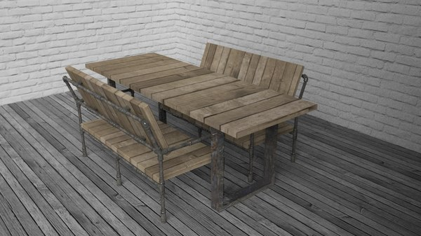 table kit 03 loft 3d model