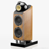 floorstanding bowers wilkins 800 3d max