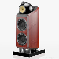 floorstanding bowers wilkins 800 3d model