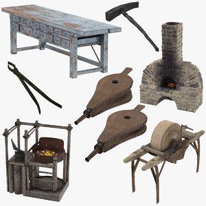 blacksmith 01 3d model