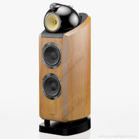 floorstanding bowers wilkins 802 3d model