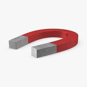 3d horseshoe magnet