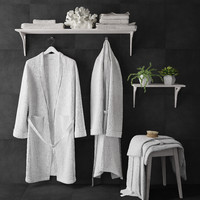 bathrobe set 3d max