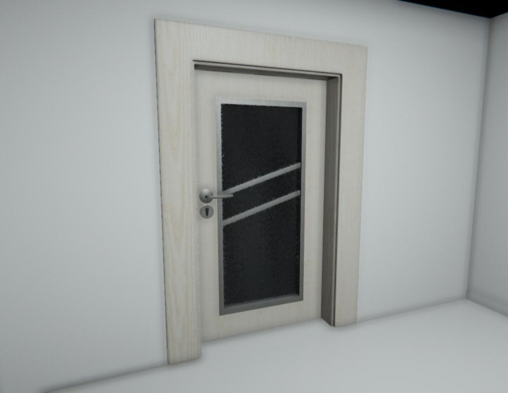 3d model doors l r