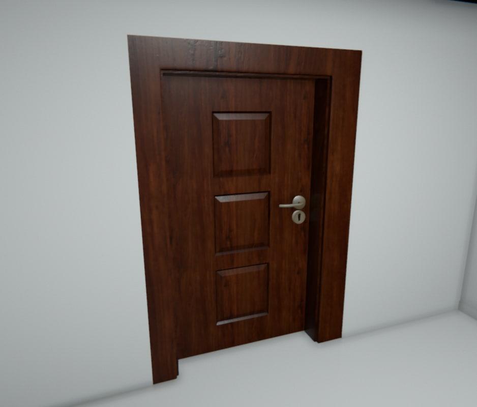 3d doors l r model