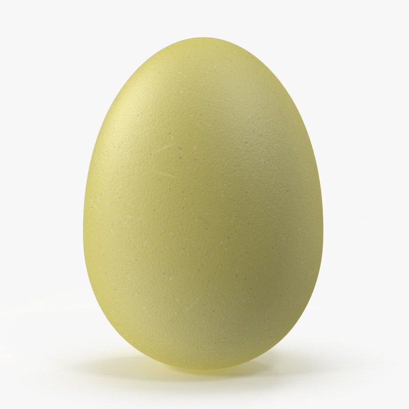 3d max easter egg solid yellow