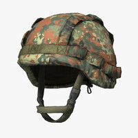 qualitative military bundeswehr helmet 3d max