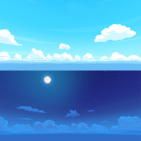 Toon-style Skydome/Skybox