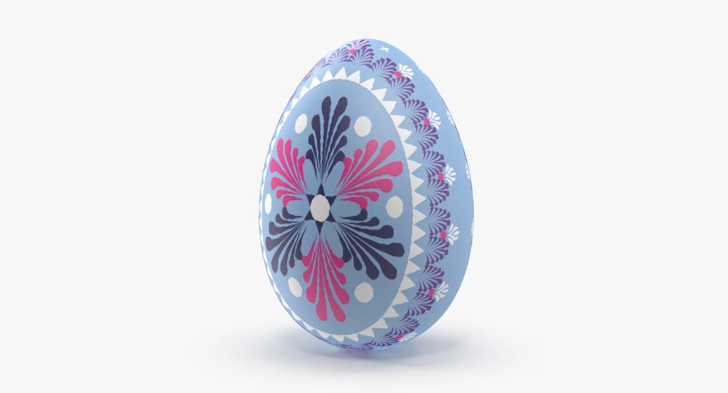 german easter egg light 3d model