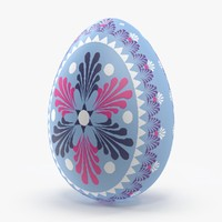 german easter egg light 3d model