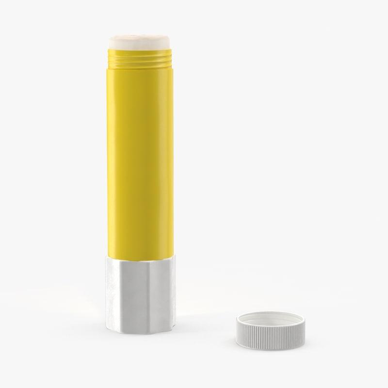 3d model glue stick