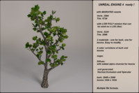 3d fantasy tree 03 model