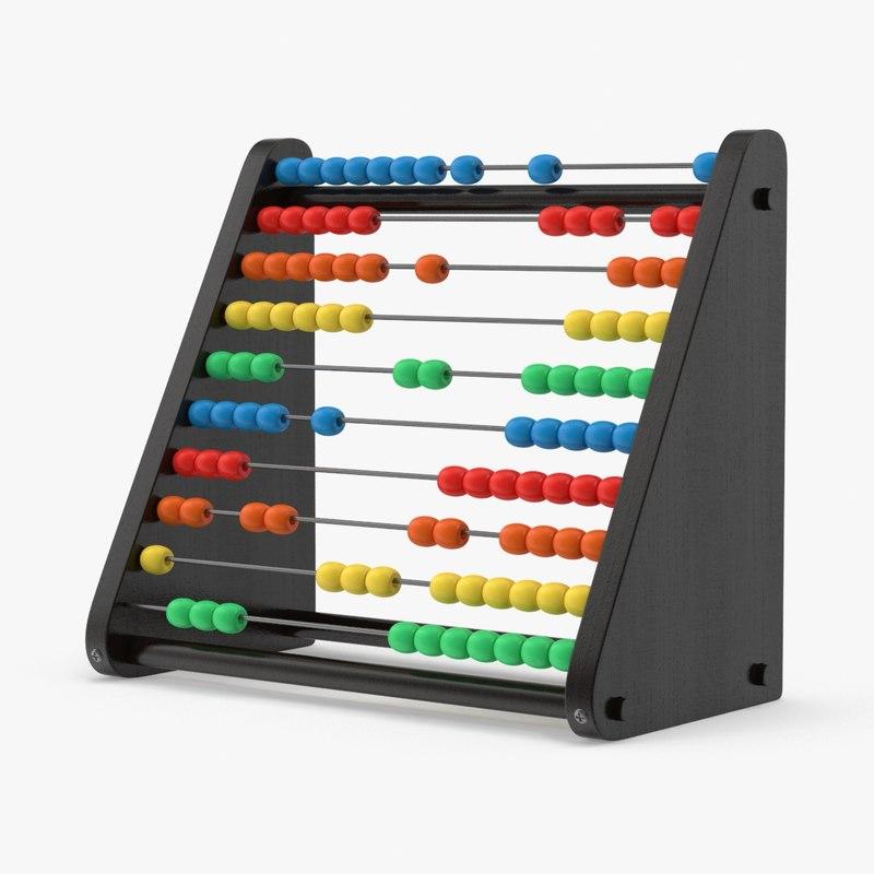 3d model abacus 02