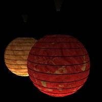 max chinesered lantern light