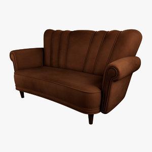 sofa 3d obj