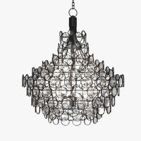 3d model currey company chandelier