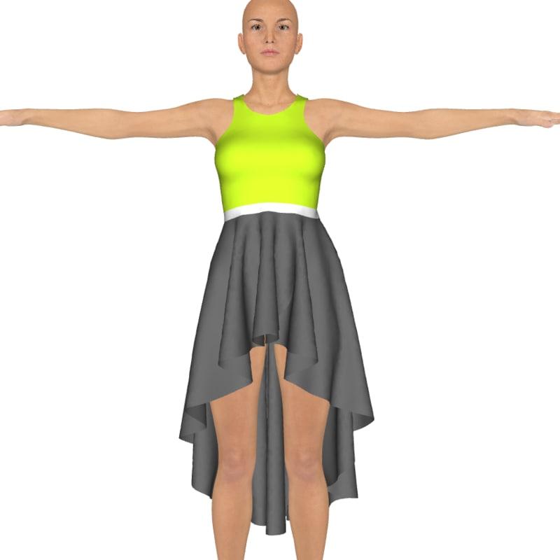 3d model daz clothing genesis 3
